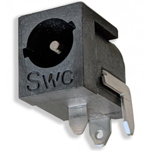 RAPC712BKZ - 2.5mm Right Angle PC Jack - Switchcraft