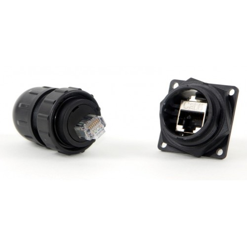 DCC-RJ6ST-310 SCREENED IP68 RJ45 Cable Plug by Conxall